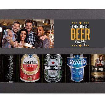 Set aus ausgewählten Biersorten zum verschenken