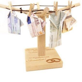 Hochzeitsgeschenk Geldspinne