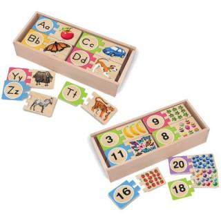 Lernpuzzle fuer Kinder