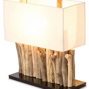 Bild von Treibholzlampe