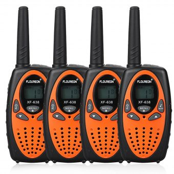 Vier Walkie-Talkies