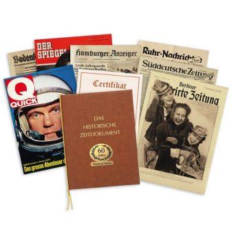 Diverse Zeitschriften und Mappe