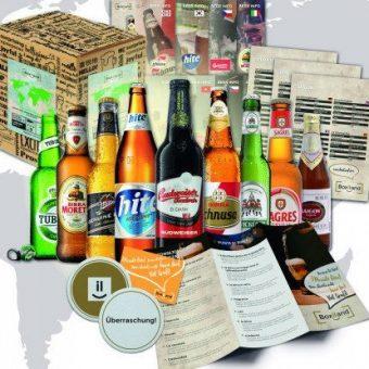 Neun Biere aus der Welt