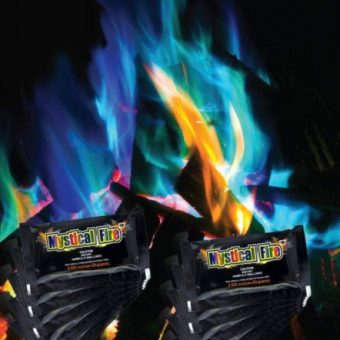 Buntes Feuer mit Mystical Fire